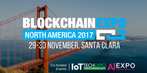 Blockchain Expo North America – November 2017 in Santa Clara